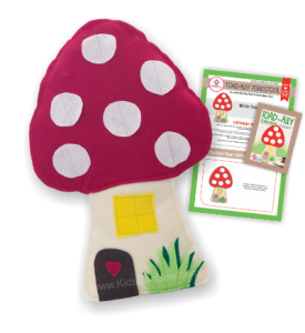 toadstool pillow sewing camp patterns and workbook