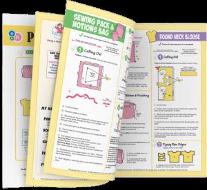 Kids Can Sew Pattern Workbook