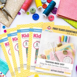 Teach Kids To Sew First Class